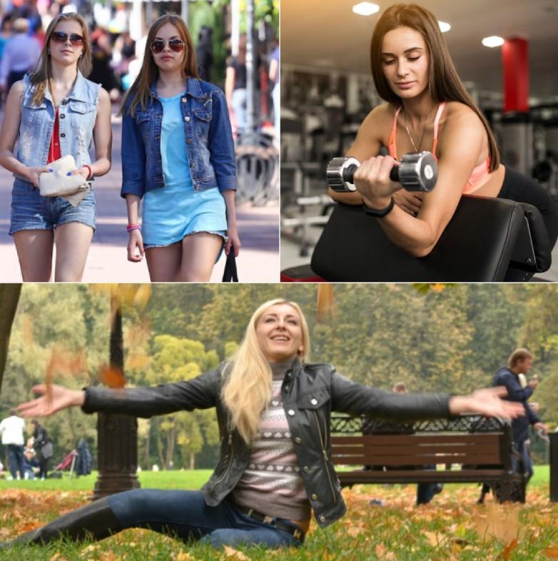 Russian Ukrainian girls in real life